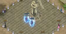 蓝月传奇王城战宣传图